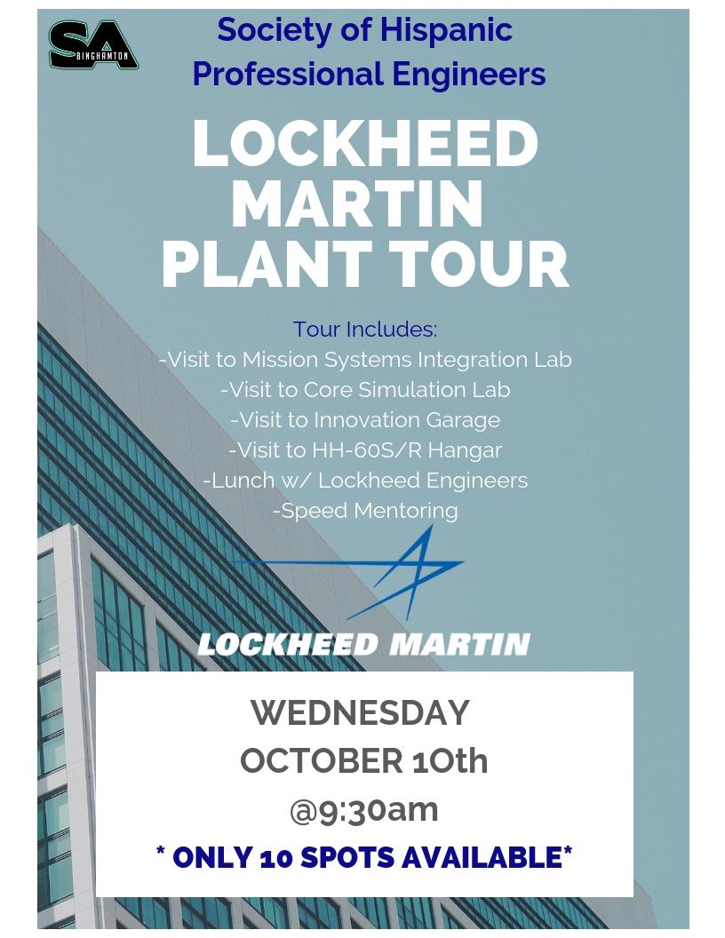 Lockheed martin plant tour