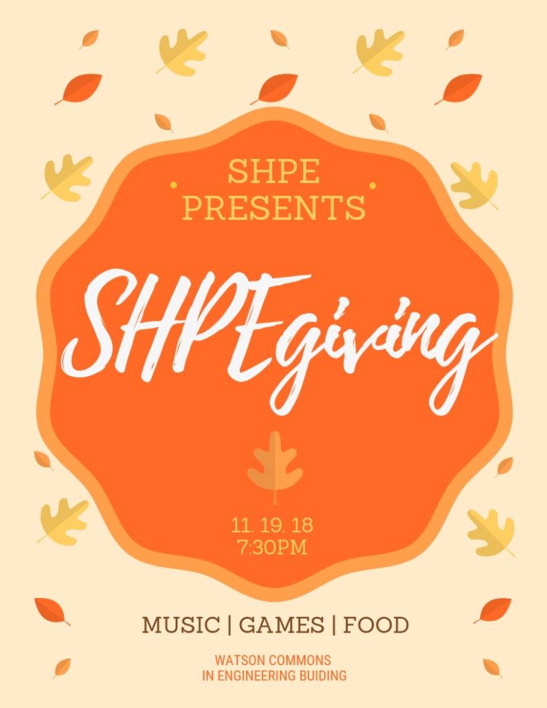 SHPEgiving